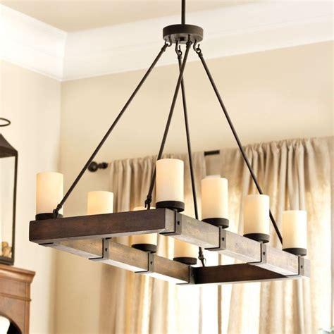 Ballard Design Chandeliers arturo 8 light rectangular chandelier