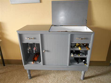 living room stereo upcycled mini bar