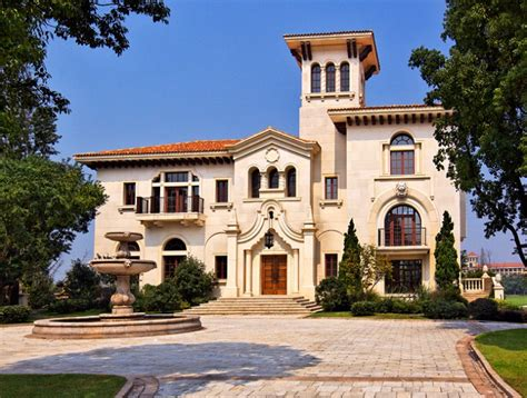 Floor Plans For One Story Homes by The Mansions At Sheshan Golf Club In Shanghai China