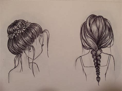 sketches of hair hair sketches by frkdahl on deviantart