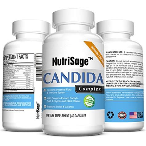 Herbal Clean Premium Detox Ingredients by Premium Candida Cleanse Fights Candida Yeast Infection