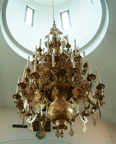 File New Valamo Monastery Main Church Chandelier Jpg Church Chandeliers