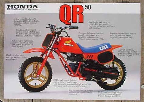 Honda Qr50 Sticker Kit by 1983 Honda Qr50 Mini Bike Motorcycle Shop Advertising