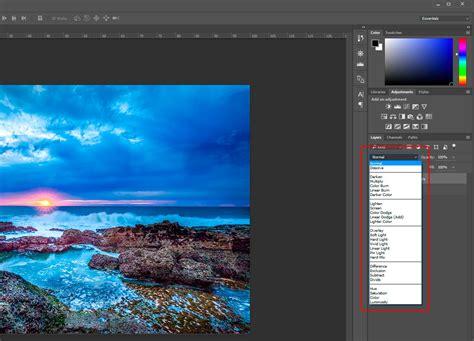 Blend Layers Photoshop