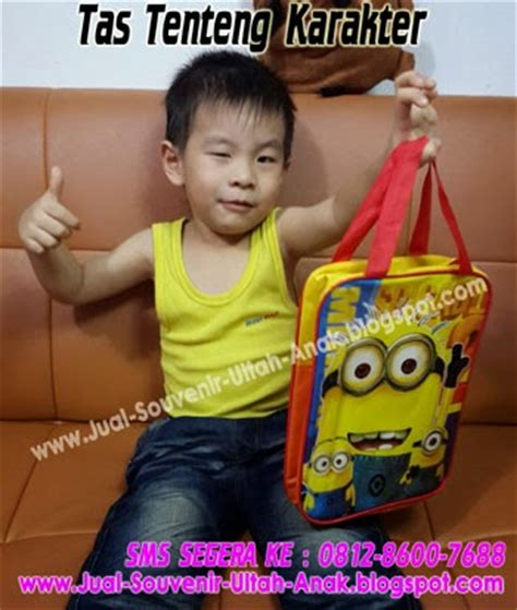 Tas Tenteng Tas Bingkisan Kado Karakter jual souvenir bingkisan hadiah kado ulang tahun anak