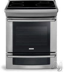 bottom drawer of stove use electrolux wave touch slide in range convection oven with