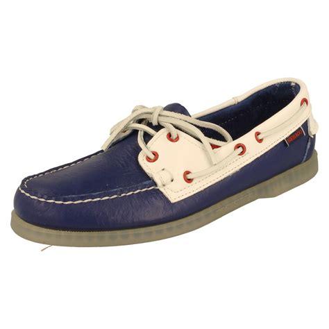 boat deck shoes mens sebago boat deck shoes spinnaker w ebay