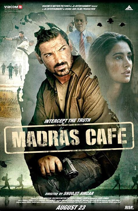 film india john abraham john abraham s madras cafe first poster released