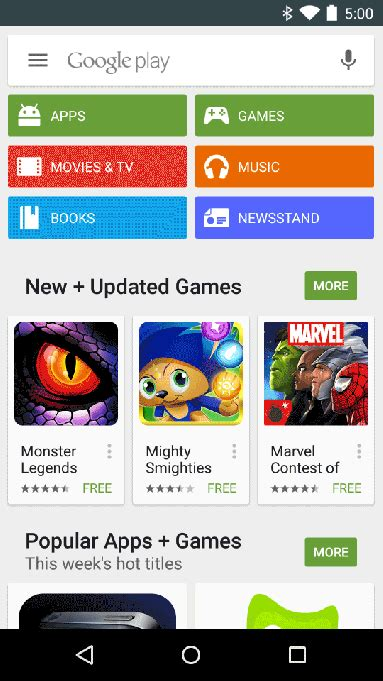 play store mobile starts testing mobile app ads in the play