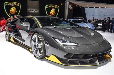 Lamborghini Centenario ? 759bhp V12 supercar shown on