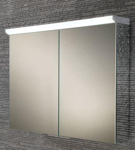 illuminated bathroom cabinet 700mm x 600mm hib ember 80 double door led illuminated mirror cabinet