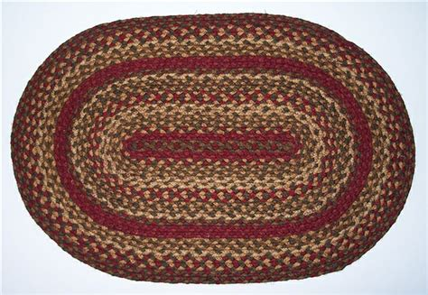 how to make an oval braided rug oval cinnamon braided rugs country