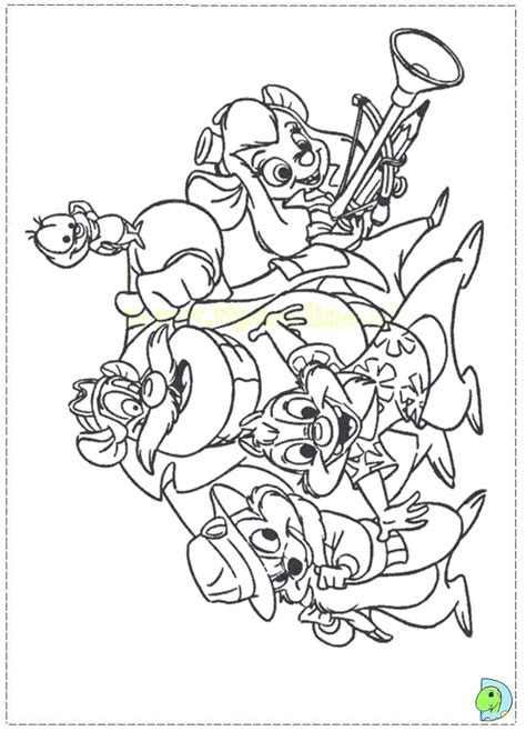 Chip And Dale Coloring Pages Dinokids Org Chip N Dale Coloring Pages