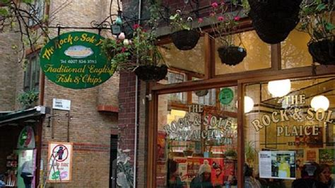 Rock And Sole Covent Garden Rock And Sole Covent Garden The Traditional Plaice Fish And Chip Shop On Downing The