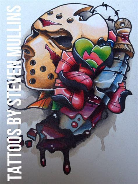 jason voorhees tattoo design by artisticrender on deviantart