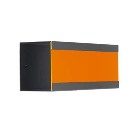 keilbach briefkasten keilbach zeitungsbox glasnost newsbox color orange