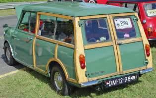 Mini Cooper Traveller 1967 Mini Minor Traveller Rear Angle