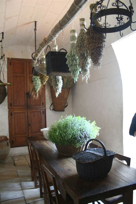 Hanging Herbs In Kitchen Window by Hanging Dried Herbs Or Lavendar In Kitchen Window