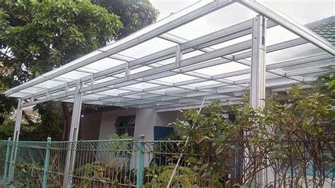Canopy Baja Ringan Atap Polycarbonate Twinlite di Komplek