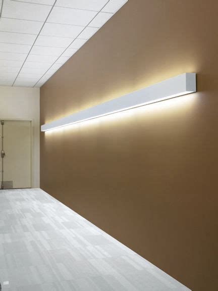 surface mounted light fixture recessed wall