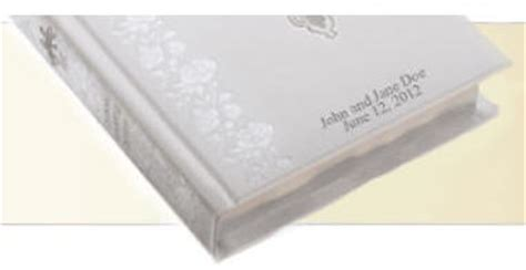 Leather Wedding Bible by Wedding S Bibles