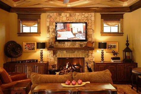 craftsman home craftsman family room columbus by craftsman style lodge house