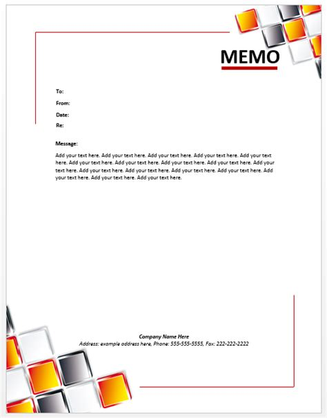 Microsoft Office Memo Template memo word templates microsoft word templates