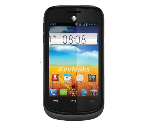 zte avail  bluetooth gps camera android  phone att