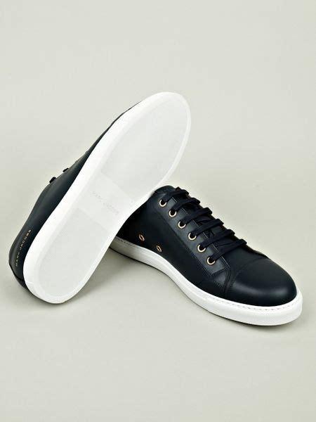 marc sneakers mens marc marc mens low top sneaker in blue for