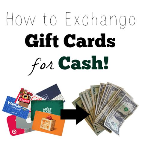 Cash In Gift Cards For Money - gift card exchange how to exchange gift cards for cash