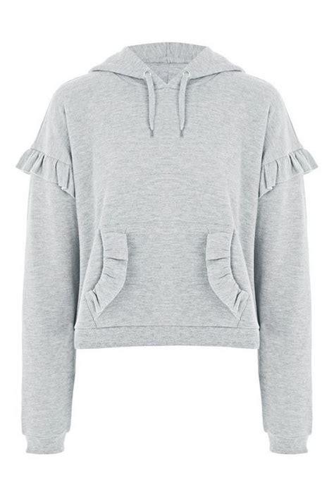 Ruffle Hoodie ruffle hoodie topshop