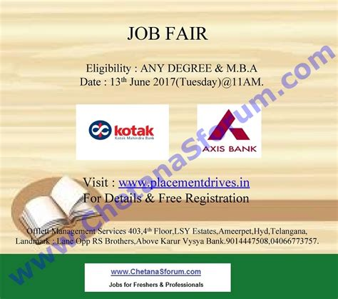 Mba Fresher In Hyderabad Walkins by Freshers Experienced Fair Cus