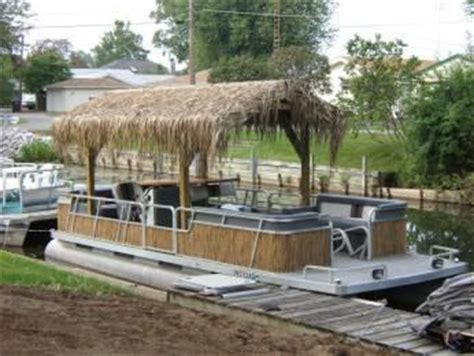 tiki hut boat for sale tiki boats tiki central