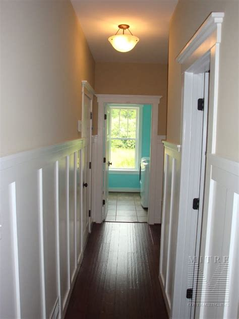Craftsman Chair Rail - pin chair rail is great for separating color below trim added on pinterest
