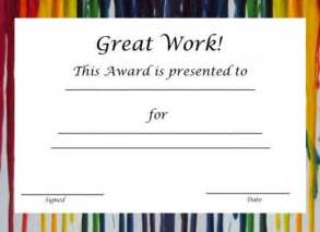 Spot Award Certificate Template by Free Printable Award Certificates For Hubpages