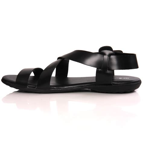 Handmade Leather Sandals Uk - unze mens ikei handmade leather flat summer