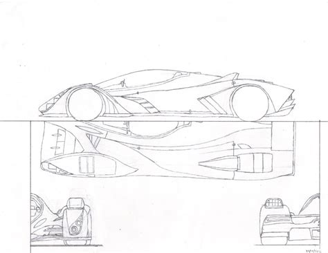 supercar drawing how to draw supercar