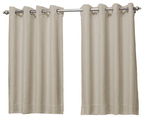 short length curtains shop houzz ricardo trading tacoma double blackout short