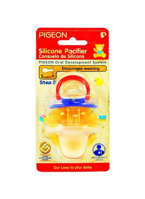 Huki Dot Silicone Orthodontic Isi 2 pigeon silicone pacifier step 2 pck klikindomaret