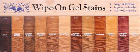 wood stain color chart ideas  pinterest