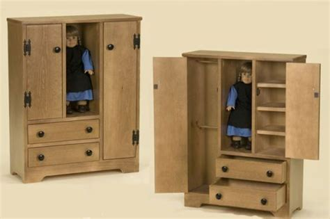 details about doll closet american size furniture