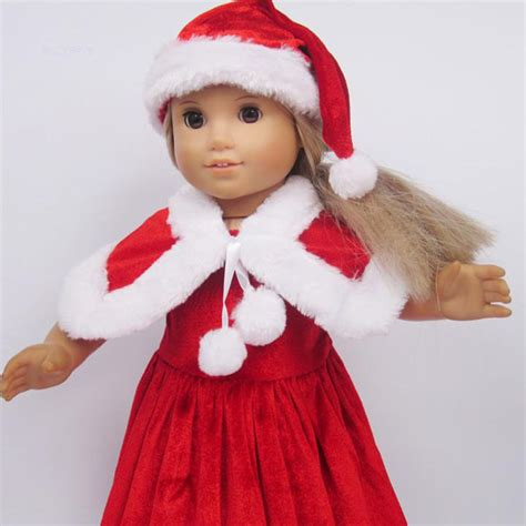 Where Can I Buy American Girl Doll Gift Cards - christmas gift red christmas doll clothes handmade doll clothes 18 quot diy american girl