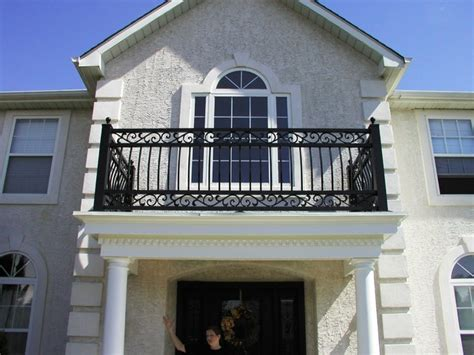 Front Door Railing Portico Railing Interior Railing And Front Doors In Columbus Nj Eclectic Other Metro By
