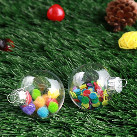 Shatter Proof Home Windows Decor 2017 Clear Diy Baubles Shatterproof Seamless Plastic Home Tree Decor Gifts Alex Nld