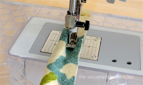 upholstery cording instructions sewing machine feet the zipper foot
