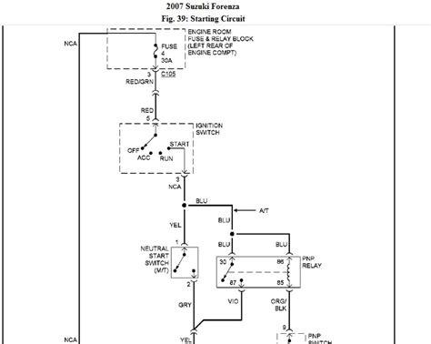 2004 suzuki forenza fuse box diagram 2004 free engine image for user manual