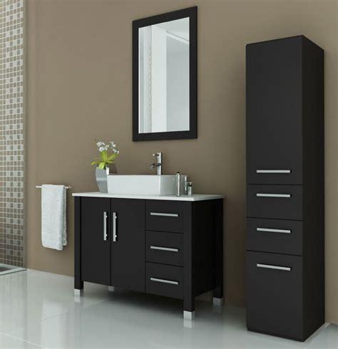 40 inch sink vanity avola 40 inch vessel sink bathroom vanity espresso finish