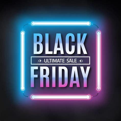 Black Friday Sale Design Template Black Friday Light Black Friday Light Sale