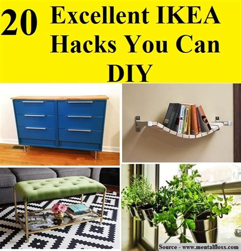 20 awesome diy ikea hacks 2017 20 excellent ikea hacks you can diy home and life tips