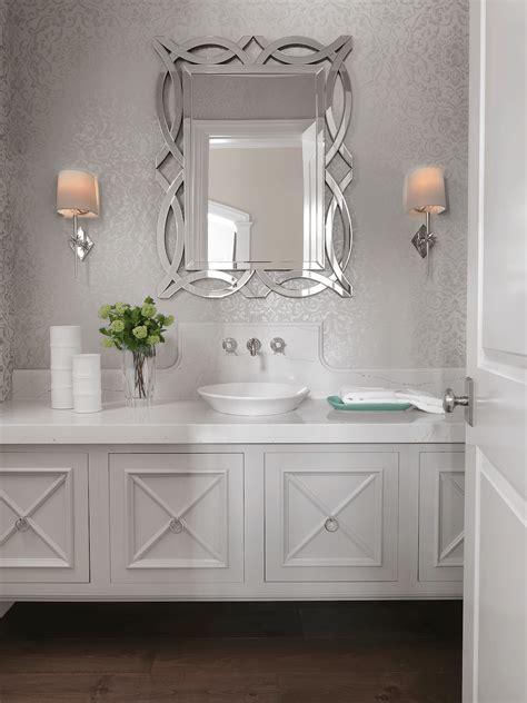 elegant powder rooms elegant powder room beck allen cabinetry
